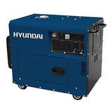 Generador Diesel Hyundai 073g 8 Kva Trif. Insonorizado - Tyt