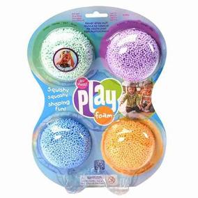 Playfoam Pack 4 Clasico Juego De Formas Para Niños/as 3-8
