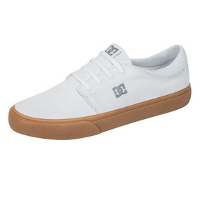 Tenis Marca Dc Shoes Mod Wg5 Blanco