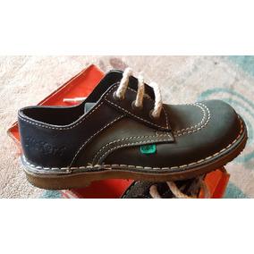 Zapatos Kickers Originales Impecables Azul Talle 33