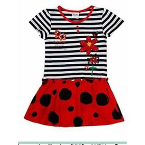 Vestido Importado 4 Años Verano Nenas Fiesta
