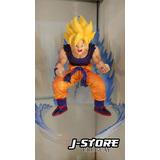 Figura De Goku 17cm Dragon Ball Dbz Anime Manga