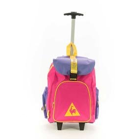 Mochila Le Coq Sportif Colors Wheels Backpack- Fuccia Niños