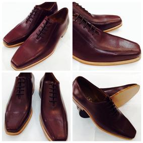 Zapatos De Vestir Hombre Color Guinda