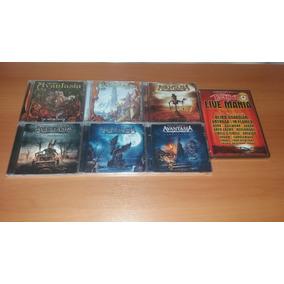 6 Cds: Avantasia - Angel/wicked/ghostlights/scarecrow Brinde