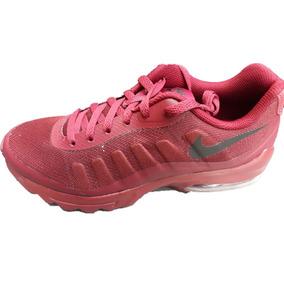 Tenis Nike Air Max Invigor Rojo/vino Hombre 100% Originales