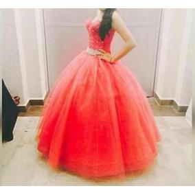 Vestido Xv Años Color Coral *