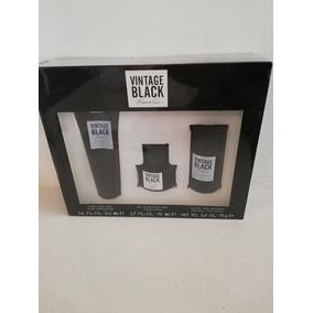 Vintage Black Kenneth Cole Set Locion After Shave Desodorant