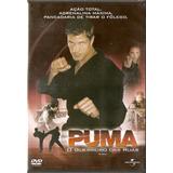 Dvd Puma - O Guerreiro Das Ruas - Novo***