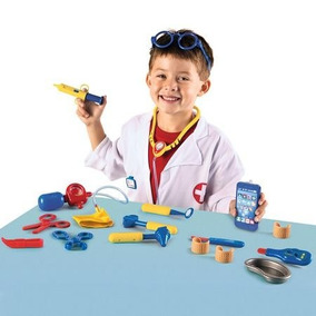 Set Doctores Juguete Didáctico Learning Resources 3+