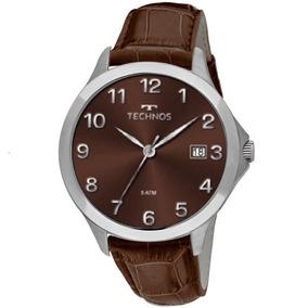 Relogio Technos Stel Branco Masculino - Relógios De Pulso no Mercado ... 7636079df7