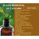 Aceite Cannabis Libre De Thc #promo 60ml +15 De Regalo