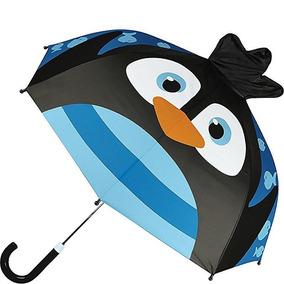 Sombrilla Paraguas Pinguino Stephen Joseph Niño Azul Niña