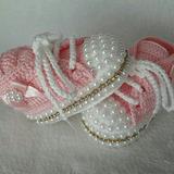 Zapatitos Crochet Bebe