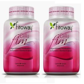 Cellufim Formula Anti Celulite Fitoway - 2x 60 Cáps
