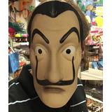 Máscara Careta Casa De Papel Dalí - Descuento Por Cantidad!
