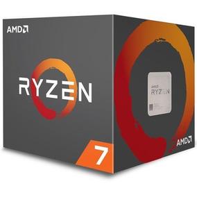 Processador Amd Ryzen 7 2700x C/ Wraith Prism Cooler, Octa