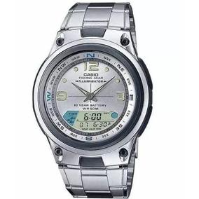 1ab933d986e Caixa Relógio Casio Aw 82 D Fishing Gear Pesca Fases Lua Mas ...