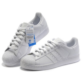 buy popular 2935e 177aa Zapatillas adidas Superstar Blanco Hombre Mujer Originales