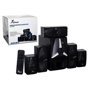 Caixa Som Amplificada 5.1 Subwoofer Bluetooth Pc Tv Bivolt
