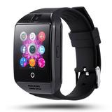 Smartwatch Reloj Celular Q18 Pantalla Curva Sim Bluetooth