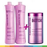 Kit Selagem Progresiva + Botox Capilar Pronta Entrega