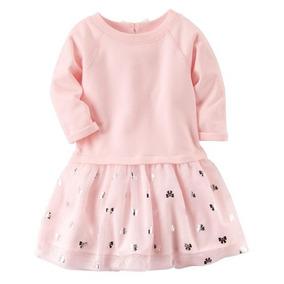 Roupa De Bebê Vestido Rosa Saia Tutu Carter