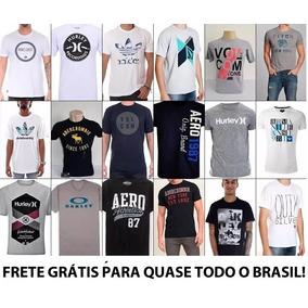 987e8bb0e4 Kit 12 Camiseta Camisa Blusa Masculina De Marca Atacado