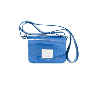 Bolsa Zaxy 17622 Power Bag Verniz Azul Islen Calçados