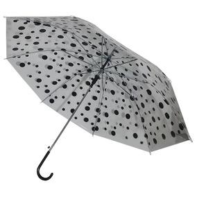 Paraguas Transparente Diseño Lunares Varios Colores - El Reg