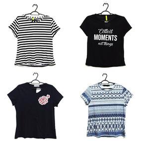 Lindas Kit 10 Blusinha Moda T-shirt Roupa Feminina Atacado