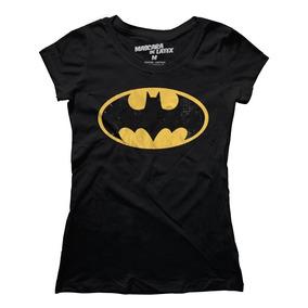 Playera Mascara De Latex Batman 89 Logo Mujer
