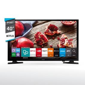 Smart Tv 40 Samsung J5200 Negro