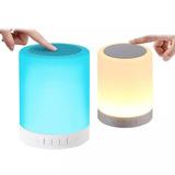 Portatil Bluetooth Con Parlante Y Efecto De Luz Decorativo