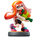 Figura Amiibo Inkling Girl Serie Splatoon Nintendo Wii U