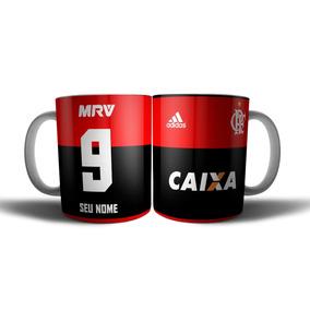 Caneca Flamengo Com Seu Nome Personalizada Cerâmica 350ml 51a0f8f7b41ad