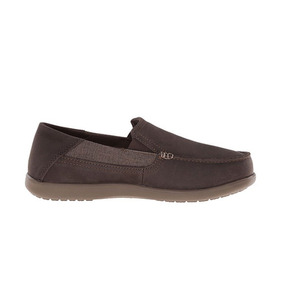 Crocs Hombre Santa Cruz 2 Luxe Leather Espresso-walnut