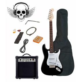 Guitarra Electrica Stratocaster Amplificador Paquete