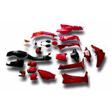 Plasticos Honda Wave Rojo 2014