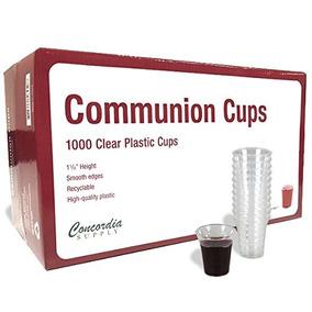 Comunión Tazas - Premium Desechable (caja De 1000) 1-3 / 8 P