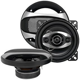 Bass Rockers 4 225 Watt 4-way Car Coaxial Speakers Br414 On