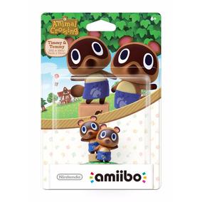 Amiibo Tymmy & Tommy Animal Crossing Nuevo Wii U / 3ds