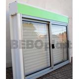 Cortina Monoblock C/ventana De Aluminio 1.00 X 1.00