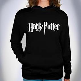 Sudadera Harry Potter Con Gorro Y Cangurera Moda Unisex