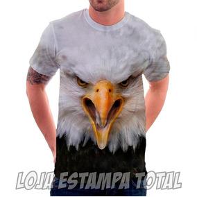 Camiseta Camisa Águia2 3d - Animais - Aves - Estampa Total