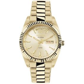 4a365f9e69da9 Relogio Technos Feminino Dourado Elegance - Relógios De Pulso no ...