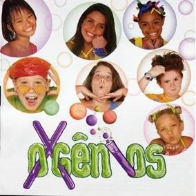 Cd Oxgenios - Part. Xuxa E Paquitas 1998 - Lacrado
