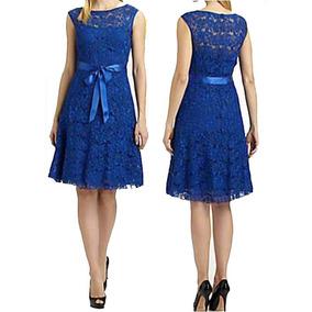 Vestido Renda Clássico Decote Festa Soltinho Royal Vr59