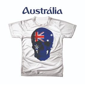 Camiseta Camisa Personalizada Copa Do Mundo Australiafutebol