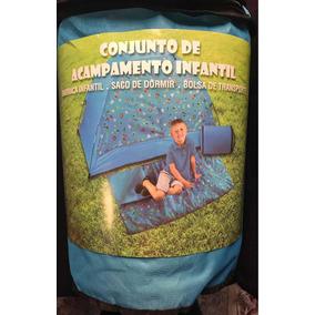 Barraca Infantil Saco De Dormir Acampamento Festa Pijama c5501a7bc43